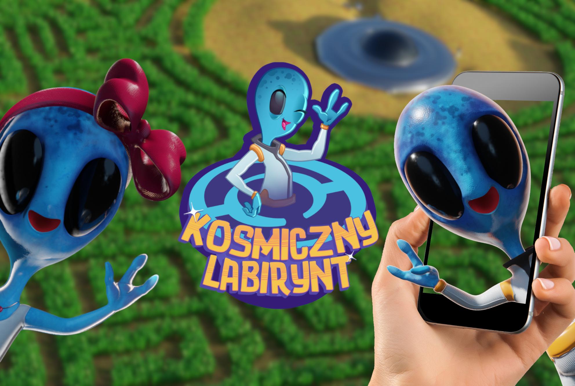 Kosmiczny Labirynt Mielno – weź telefon i zobacz inny świat w polu kukurydzy