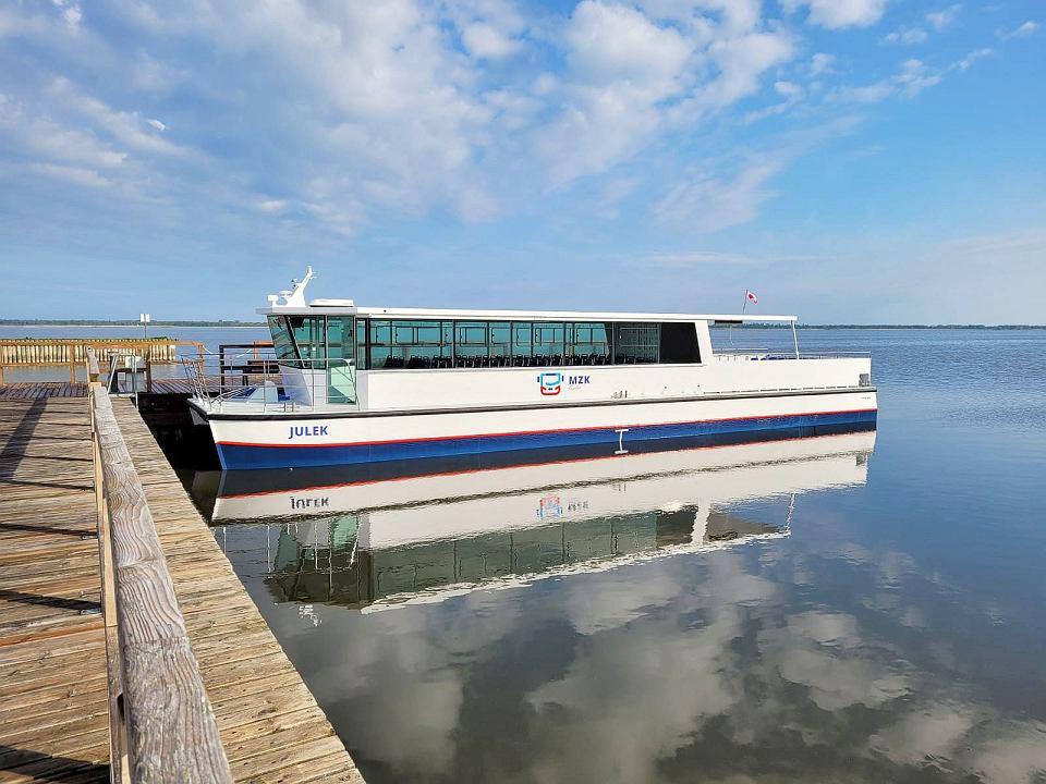 """Statek hybrydowy """"Julek"""""""